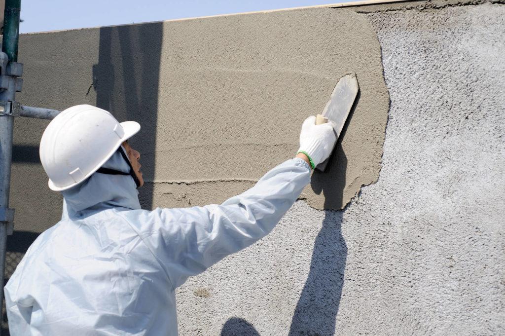 外壁 塗り壁2